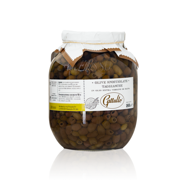 Pitted Taggiasca Olives 2800 gr