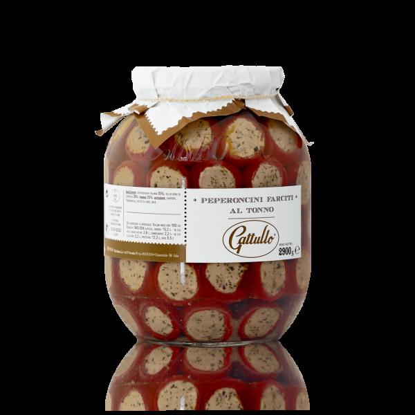 Peperoncini Farciti con Tonno 2900 gr